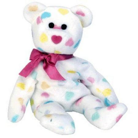 Ty Beanie Babies Kissme - Valentine's Bear, Kiss Me is a stuffed toy bear a popular gift for your birthday or baby wedding. By Beanie Babies Teddy Bears