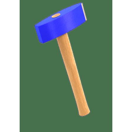 Bon 11-841 Stone Mason Hammer - 6 Pounds with Wooden Handle
