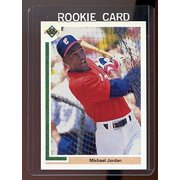 1991 Upper Deck #SP1 Michael Jordan Chicago Bulls Baseball SP RC Rookie Card