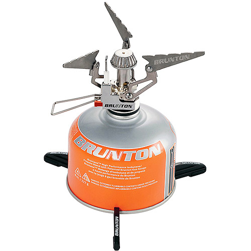 Brunton Raptor Foldable Canister Backpack Stove with Piezo Ignition