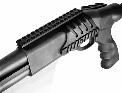 Remington 870 12 GA Saddle Tactical Scope Sight Rail shotgunn Mount