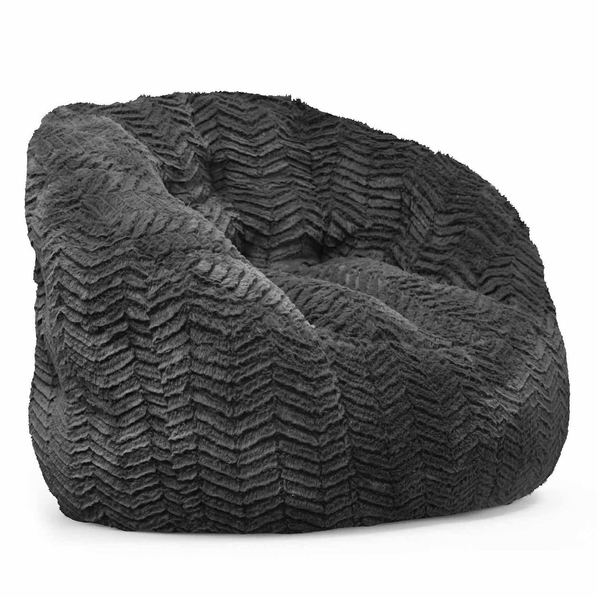 Cocoon Faux Fur Bean Bag Chair, Multiple Colors   Walmart.com