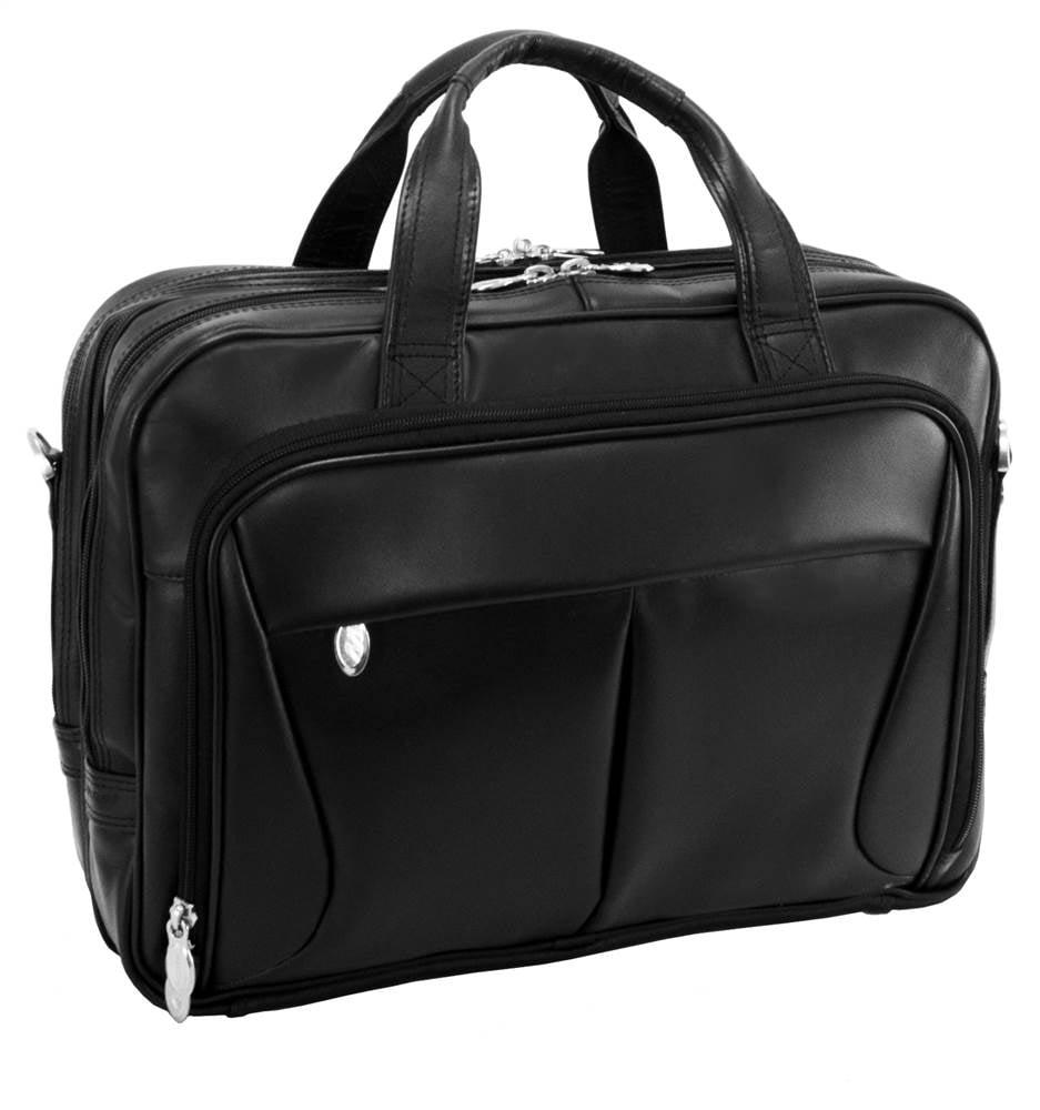 McKlein USA R Series Pearson Leather Laptop Briefcase