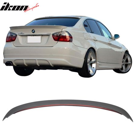 Fits 06-11 BMW E90 3-Series 330I 335I 328I Sedan ABS AC Rear Trunk Spoiler  Wing