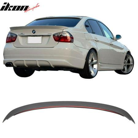 Ac Rear Spoiler - Fits 06-11 BMW E90 3-Series 330I 335I 328I Sedan ABS AC Rear Trunk Spoiler Wing
