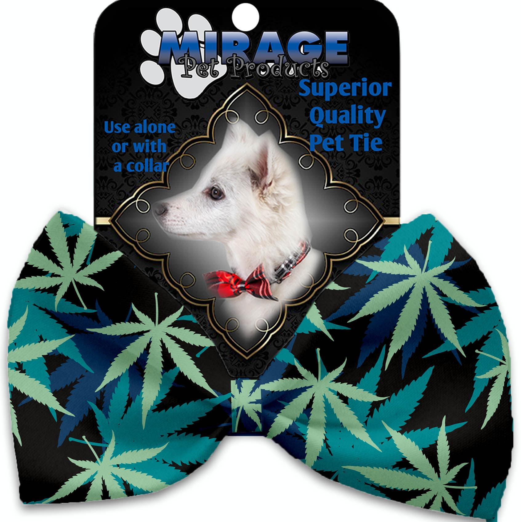 Mary Jane Blues Pet Bow Tie