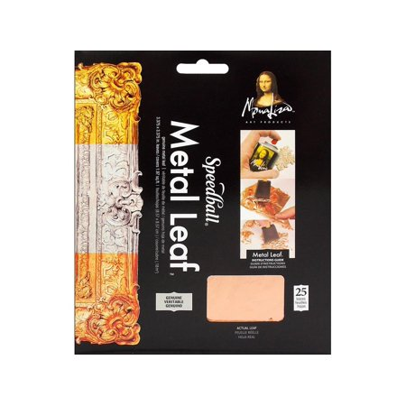 Mona Lisa Metal Leafing Sheet Copper 5-1/2in x 5-1/2in/Sheets Peggable ()