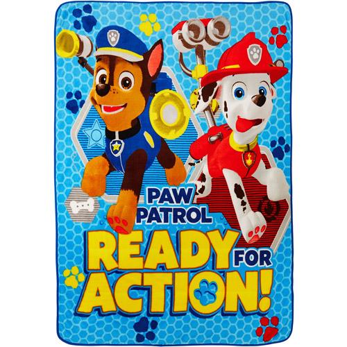 "Paw Patrol 'Saving Our Friends' Twin 46"" x 60"" Throw"