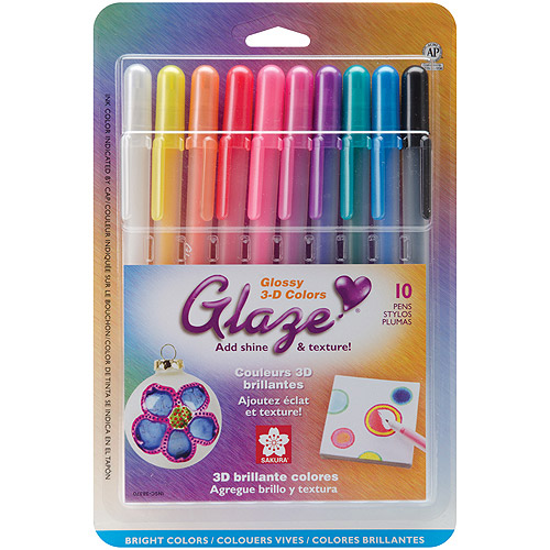 Sakura Gloss Gelly Roll Glaze, 10/pkg