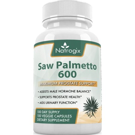 600Mg Saw Palmetto 200 Capsules For Prostate Health   Extract   Berry Veggie Capsule To Reduce Frequent Urination   Dht Blocker To Fight Hair Loss  Money Back Guarantee   200 Veggie Capsules