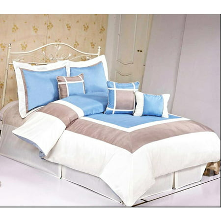 Image of At Home Conrad 7pc Comforter Set, Blue