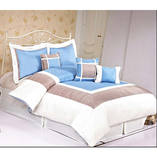 At Home Conrad 7pc Comforter Set, Blue