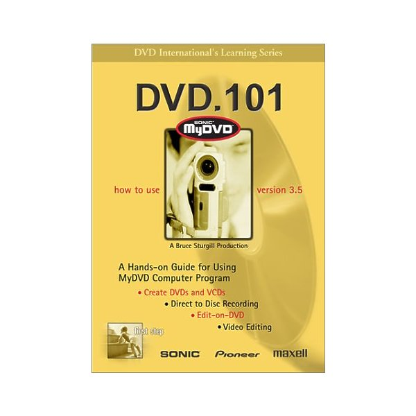 DVD 101 - SONIC MYDVD