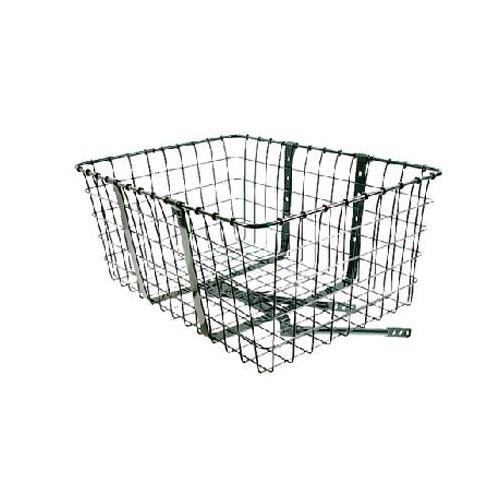Wald 157 Giant Delivery Front Handlebar Bike Basket (Black)