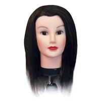 Celebrity Deluxe Debra Cosmetology Human Hair Manikin, 18-20 Inch
