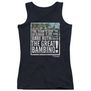 Sandlot The Great Bambino Juniors Tank Top Shirt