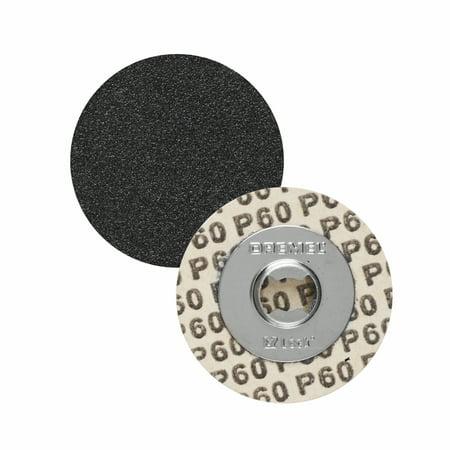 411 Sanding Discs - Dremel EZ411SA EZ Lock 1-1/4 inch 60-Grit Sanding Discs, 5-Pack