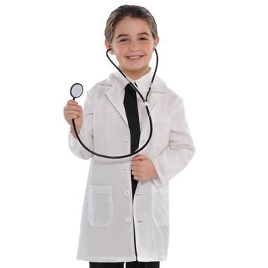Blood + Bandages Doctor's Lab Coat Child Costume - Child Small (4-6) - image 1 de 1