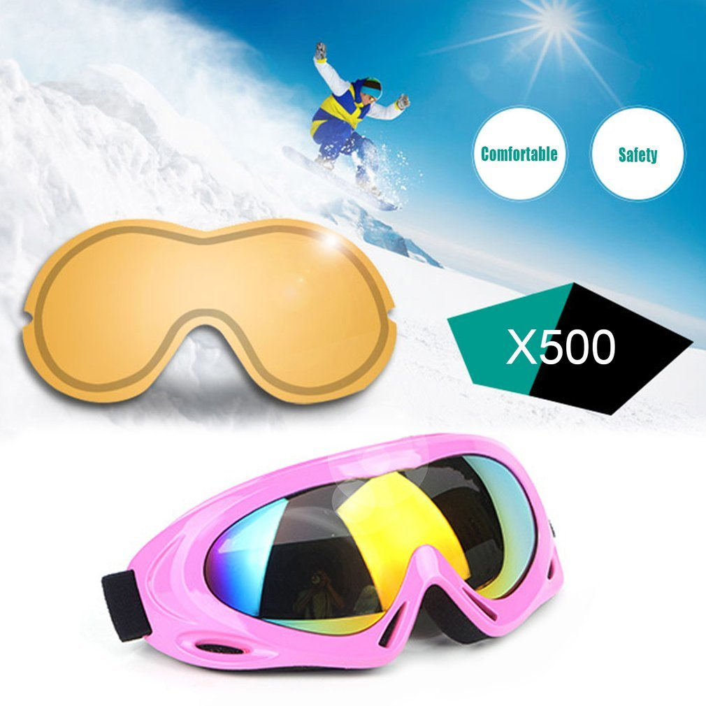 Ultra Lightweight Winter Snow Skiing Snowboard Goggles Windproof Outdoor Sport Eyewear Skating Cycling Sunglasses by