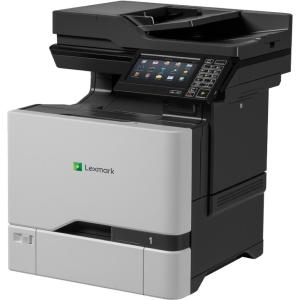 Lexmark CX725de Laser Multifunction Printer - Color - Plain Paper Print - Desktop - Copier/Fax/Printer/Scanner - 50 ppm Mono/50 ppm Color Print - 2400 x 600 dpi Print - 1 x Input Tray 550 Sheet,