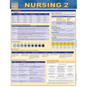 BarCharts 9781423216537 Nursing 2 Quickstudy Easel