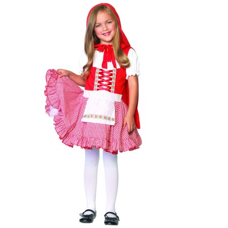 Girls Lil Miss Red Riding Hood Costume](Lil Red Costume)