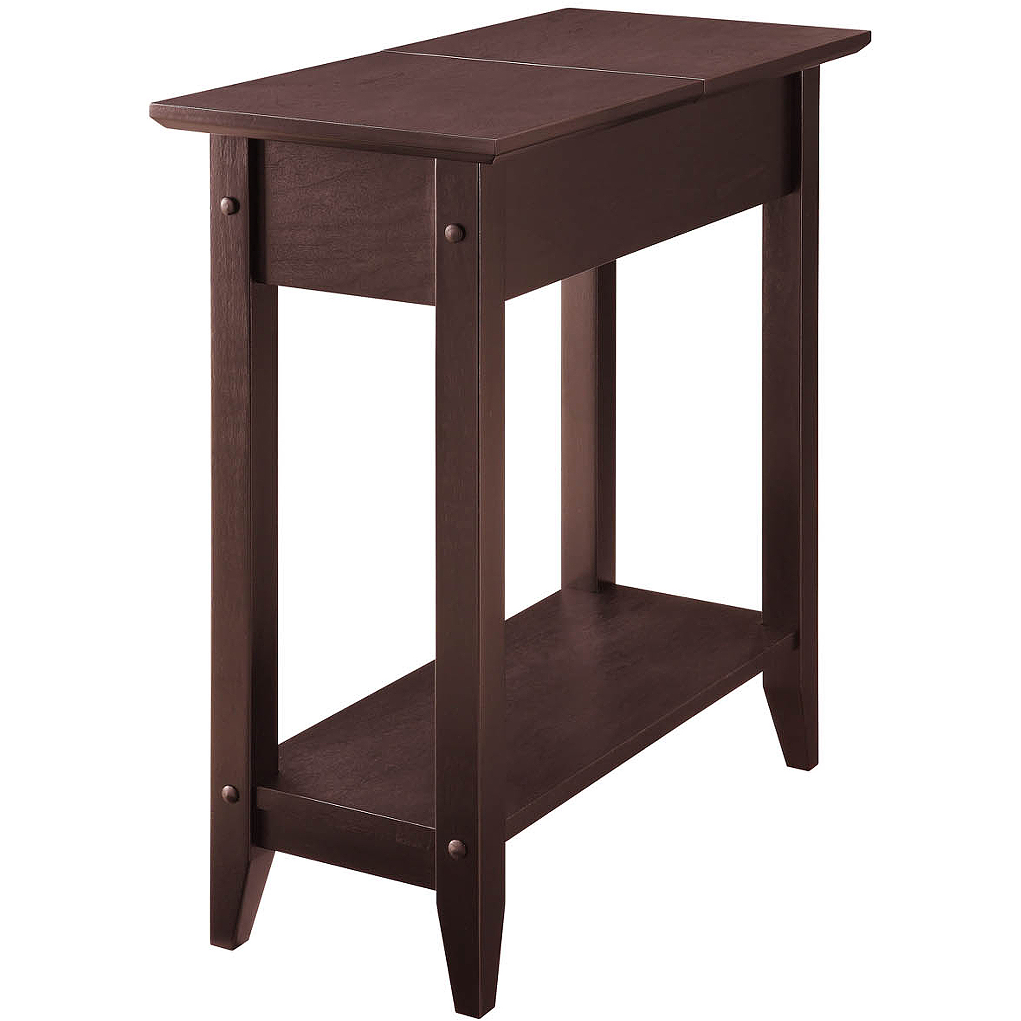 Attrayant American Heritage Flip Top Tall Side Table, Multiple Colors   Walmart.com