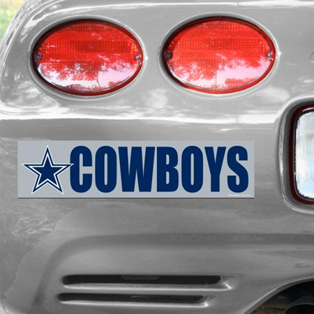 Dallas Cowboys WinCraft Bumper Sticker - No Size](Dallas Cowboys Nail Stickers)