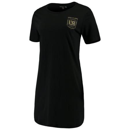 LAFC 5th & Ocean by New Era Women's Athletic Baby Jersey Dress - Black](20s Era Dresses)