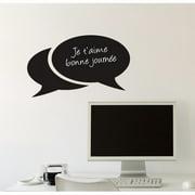 ADZif Memo Bubbles Chalkboard Wall Decal