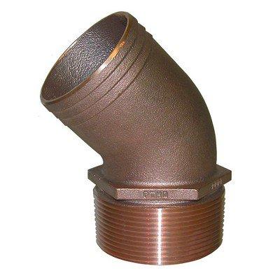 Groco Bronze Pipe - Groco 1-1/4