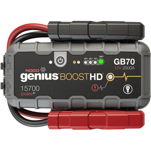 NOCO Genius Boost HD GB70 2000A Lithium Jump Starter