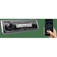 Kenwood KMR-M322BT Marine In-Dash Digital Media Receiver with Bluetooth