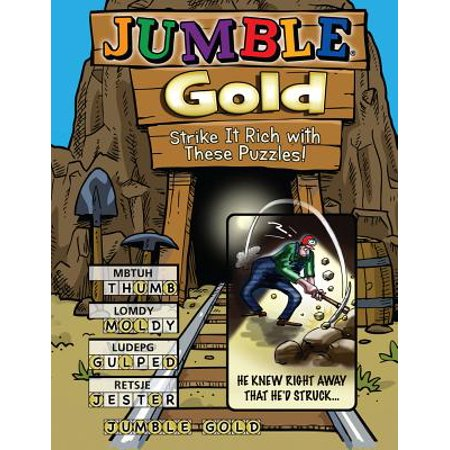 Rich Activities (Jumble® Gold: Strike It Rich with These)