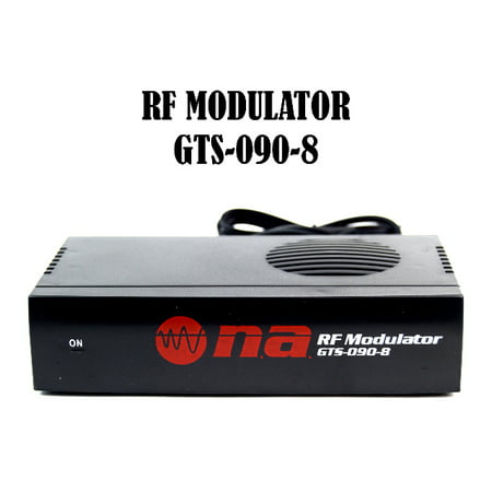 New Nippon Universal RF Modulator RCA Audio Video to Coaxial Coax F With S Video
