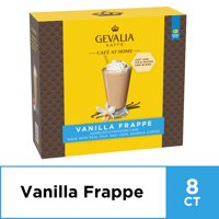 Gevalia Cafe at Home Vanilla Frappe Coffee Mix, 8 Packets