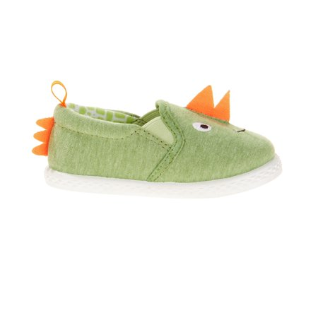 110a3e0e05a Baby Boys' Canvas Dinosaur Slip-on