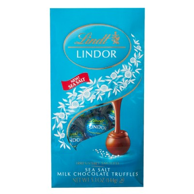 Lindt Lindor Christmas Limited Edition Peppermint Cookie Milk Chocolate Truffles 6 oz