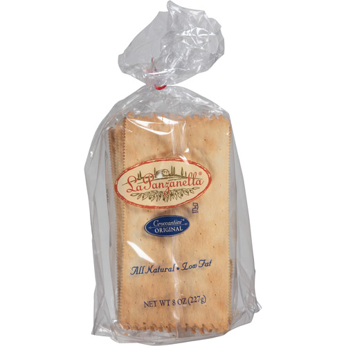 La Panzanella Original Croccantini Sesame Toast, 8 oz, (Pack of 12)