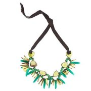 Faire Collection Rhumba Necklace, Lime