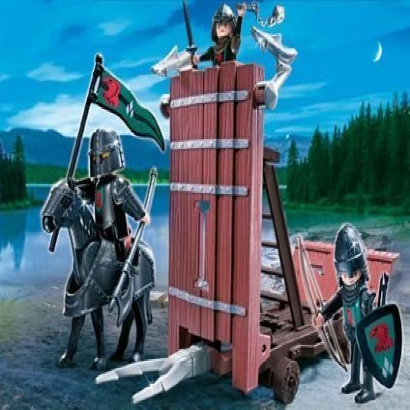 Playmobil Medieval Knights Falcon's Battering Ram