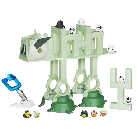 Angry Birds Seasons Halloween Games (Angry Birds Star Wars AT-AT Attack Battle)