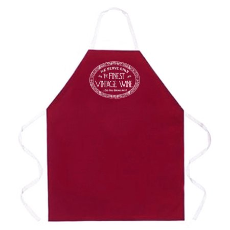 Finest Vintage Wine Aprons by LA Imprints Novelty Gift Kitchen Bar Grill Humor Funny Attitude