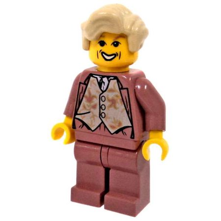 LEGO LEGO Harry Potter Gilderoy Lockhart Minifigure [Salmon Outfit, No - Harry Potter Outfits