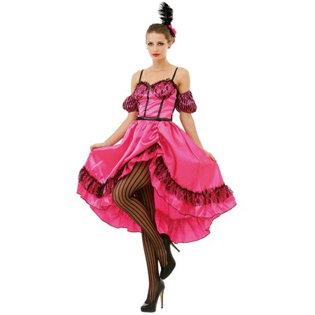 Boo! Inc. Saloon Sweetheart Halloween Costume Dress | Wild West World Madam Cosplay - Halloween Cosplay Ideas