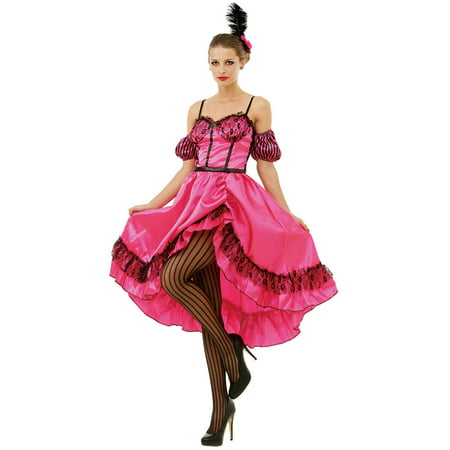 Boo! Inc. Saloon Sweetheart Halloween Costume Dress | Wild West World Madam Cosplay](Wild West Saloon Girl)
