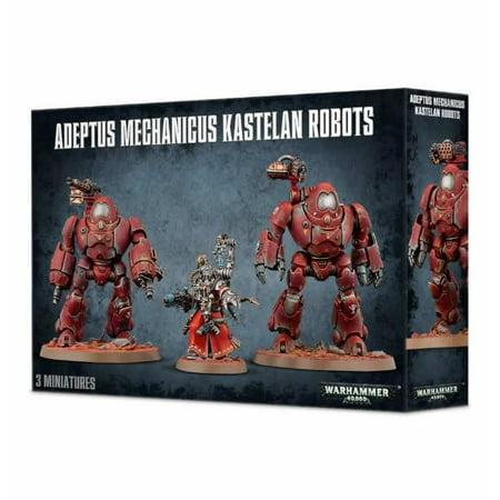 Warhammer 40K Adeptus Mechanicus Kastelan Robots by Games Workshop
