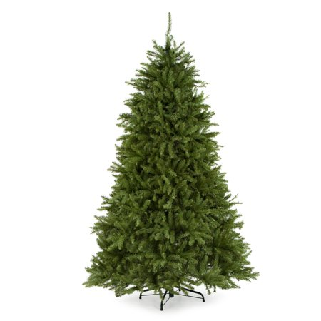 Dunhill Fir Christmas Tree.National Tree Unlit 6 1 2 Dunhill Fir Hinged Artificial Christmas Tree