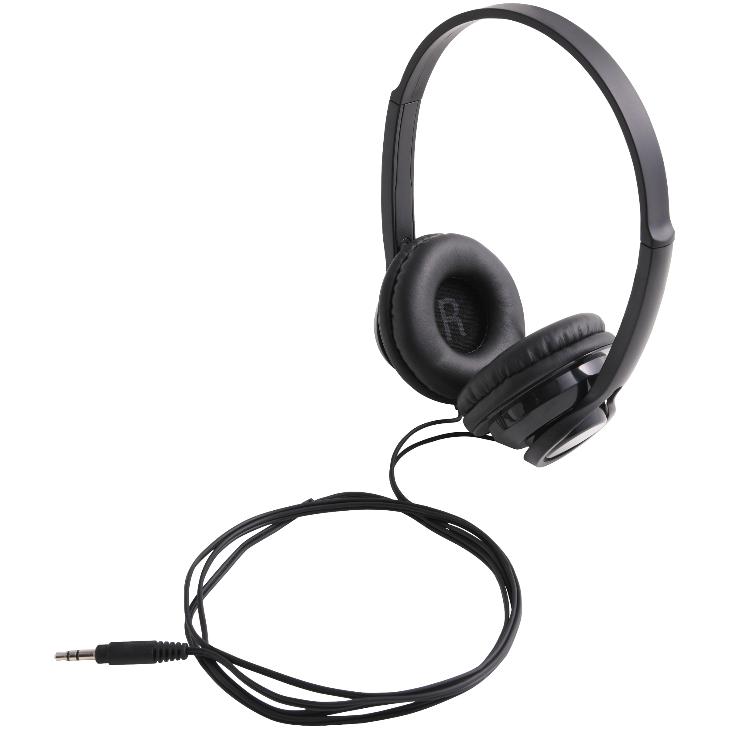 onn. On-Ear Headphones - Black