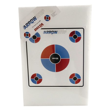 Arrow Stop Plank Archery Target This plank target is specifically designed for low poundage bows shooting up to 240fps. This target comes with a wire stand and a paper target face. This stiff and tough foam target measures 24  high x 16  wides x 2  thick. .